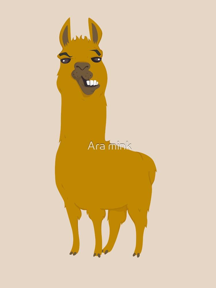 Llama is cool by arah
