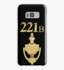 221B Baker Street - Sherlock Holmes Samsung Galaxy Case/Skin