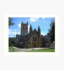 Buckast Abbey, Buckfastleigh, Devon Art Print
