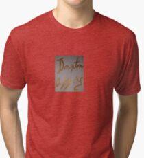 Downton Abbey Gold Tri-blend T-Shirt