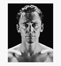 Shirtless Tom Hiddleston Photographic Print