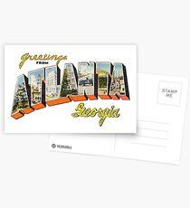 Greetings from Atlanta, Georgia 2 Postcards