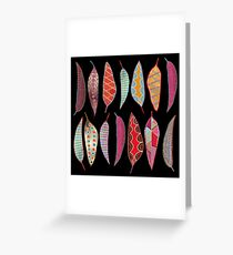 Playing with pattern  Greeting Card