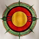 Mandala : Centre  by danita clark