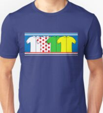 Tour de France Jerseys T-Shirt
