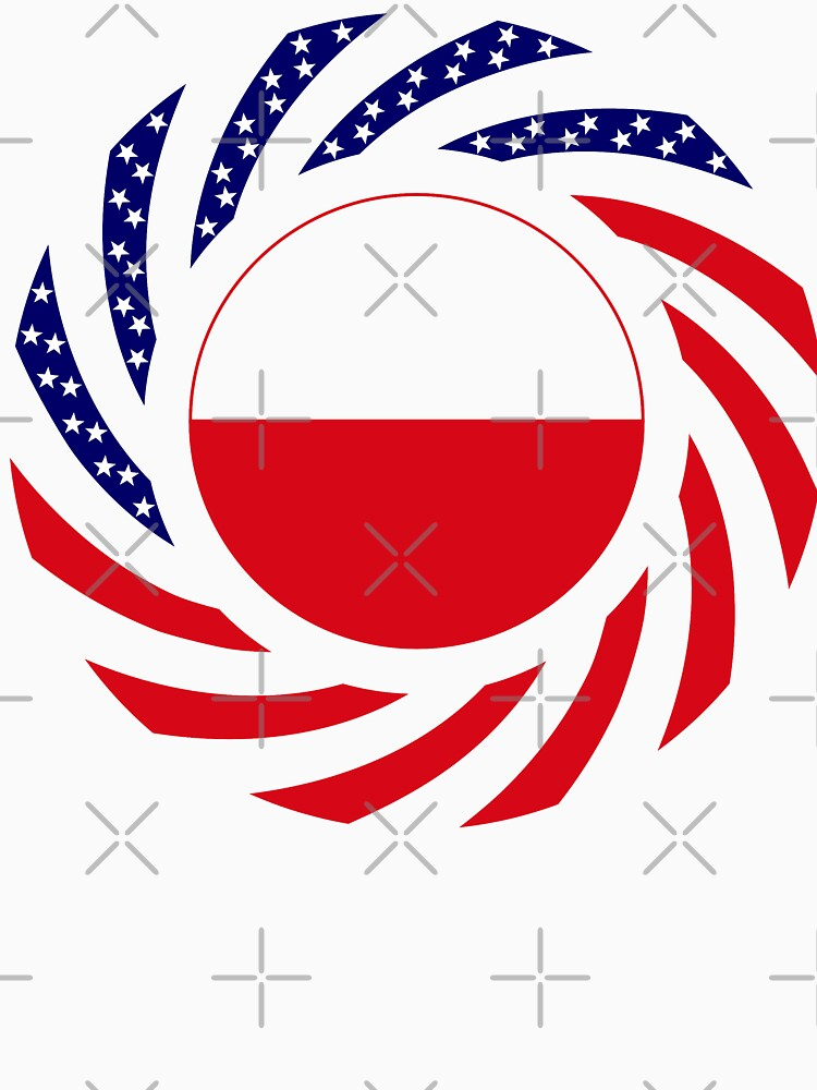 Polish American Multinational Patriot Flag Series by carbonfibreme