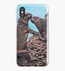 Galapagos Iguanas iPhone Case/Skin