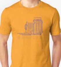 Vintage Photography - Graflex (Version 2) - Blue Unisex T-Shirt