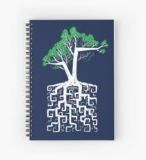 Square Root Spiral Notebook