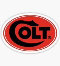 Colt Firearms Oval Logo Sticker