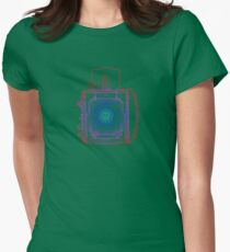 Vintage Photography - Graflex (Multi-colour) Womens Fitted T-Shirt