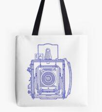 Vintage Photography - Graflex - Blue Tote Bag
