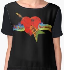 Tom Petty and the heartbreakers  Women's Chiffon Top