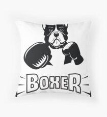 Boxer - Funny Boxer Dog Throw Pillow