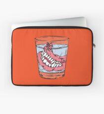 Old Vampire's Denture Laptop Sleeve