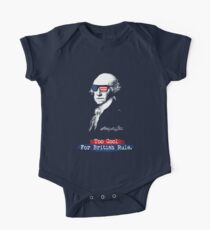 George Washington. Too cool for british rule.  Kids Clothes