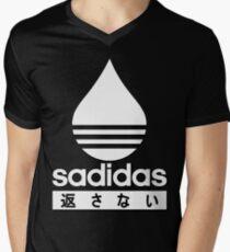 21511e3c3dbb9 SADIDAS - 返 さ な い Men s V-Neck T-Shirt