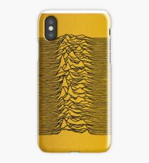 Golden Gold Joy Division iPhone Case
