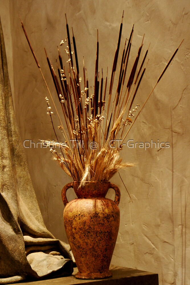 Autumn Vase by Christine Till  @    CT-Graphics