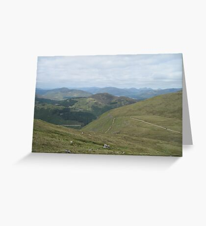 The Path up Ben Nevis (1) Greeting Card