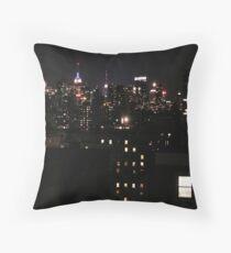 New York City Skyline - Windows auf der Stadt Dekokissen