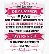 Geburtstag Dezember Posters Redbubble