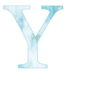 upsilon de mármol azul de mollysilverberg