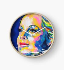 Romy Schneider - Artpainting Clock