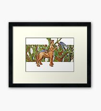Earth centaur Framed Print