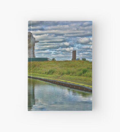 the Kelpies , Helix Park, Grangemouth , Scotland Hardcover Journal