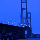 Mackinac bridge by snehit