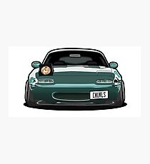 Miata Wink Car Photographic Print