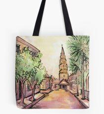Charleston Streetscape Tote Bag