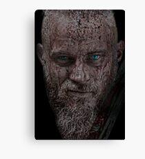 Viking King Ragnar Lothbrok Canvas Print