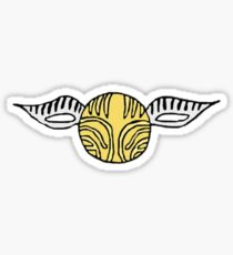 The Golden Snitch Sticker