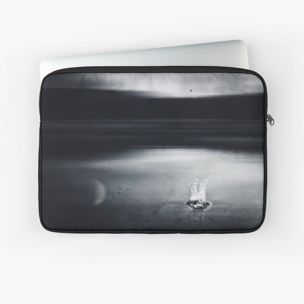 liquid dreams - abstract water landscape Laptop Sleeve
