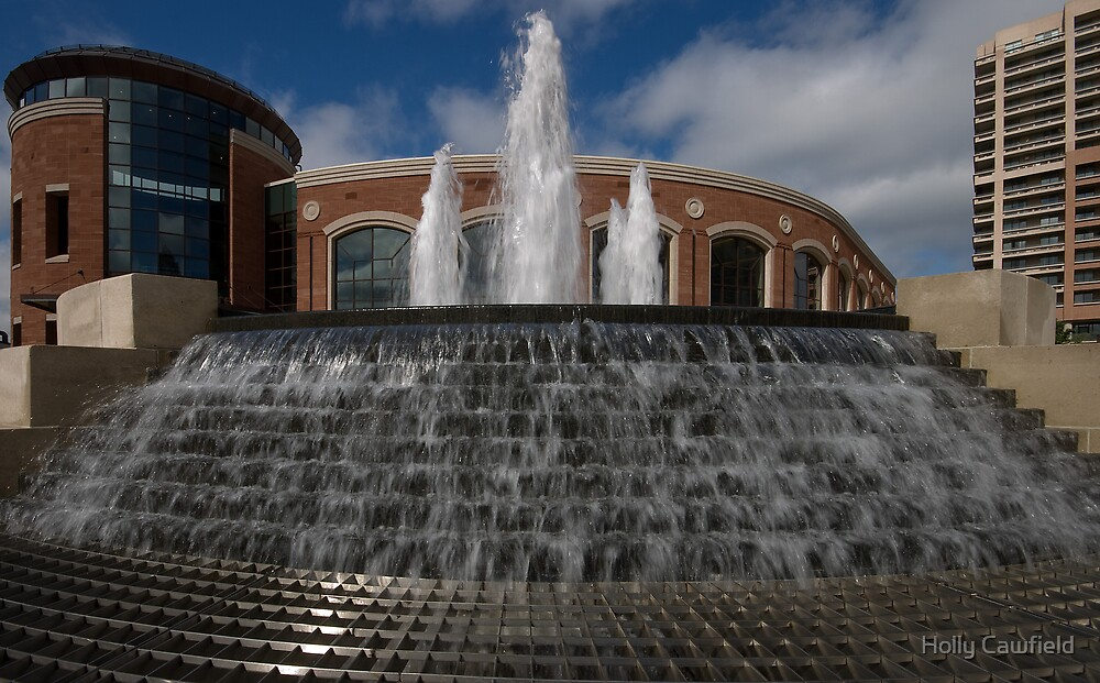 Rose Theatre Fountain by Holly Cawfield
