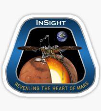 NASA Insight mission patch Sticker