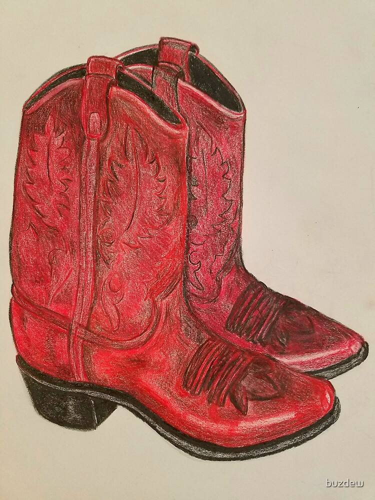 Finally, Red Boots by buzdew