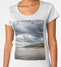 Stormy Seaside Women's Premium T-Shirt