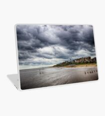 Stormy Seaside Laptop Skin