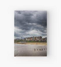 Stormy Seaside Hardcover Journal