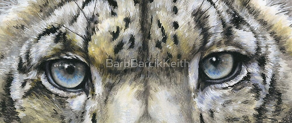 Panthera Uncia by BarbBarcikKeith