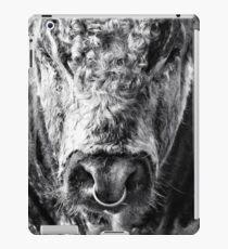 English Longhorn Bull iPad Case/Skin