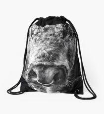 English Longhorn Bull Drawstring Bag