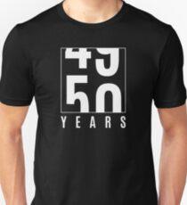 50 years Unisex T-Shirt
