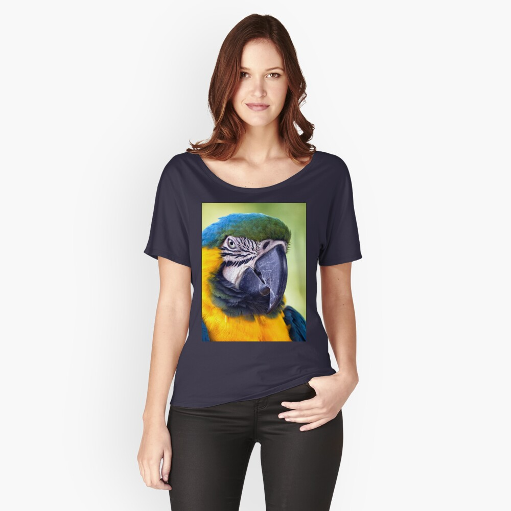 Macaw Parrot Women's Relaxed Fit T-Shirt Front