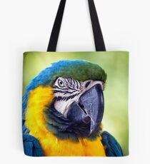 Macaw Parrot Tote Bag