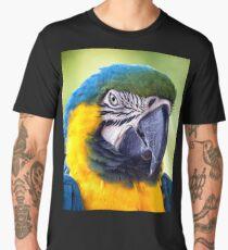 Macaw Parrot Men's Premium T-Shirt