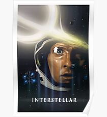 Interstellar Painting Poster